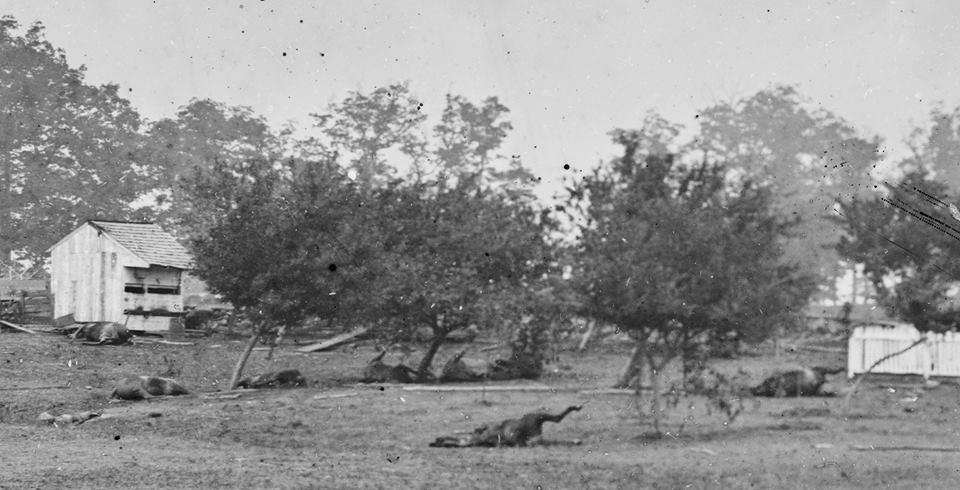 Gen Meades Hq several days after Picketts Charge