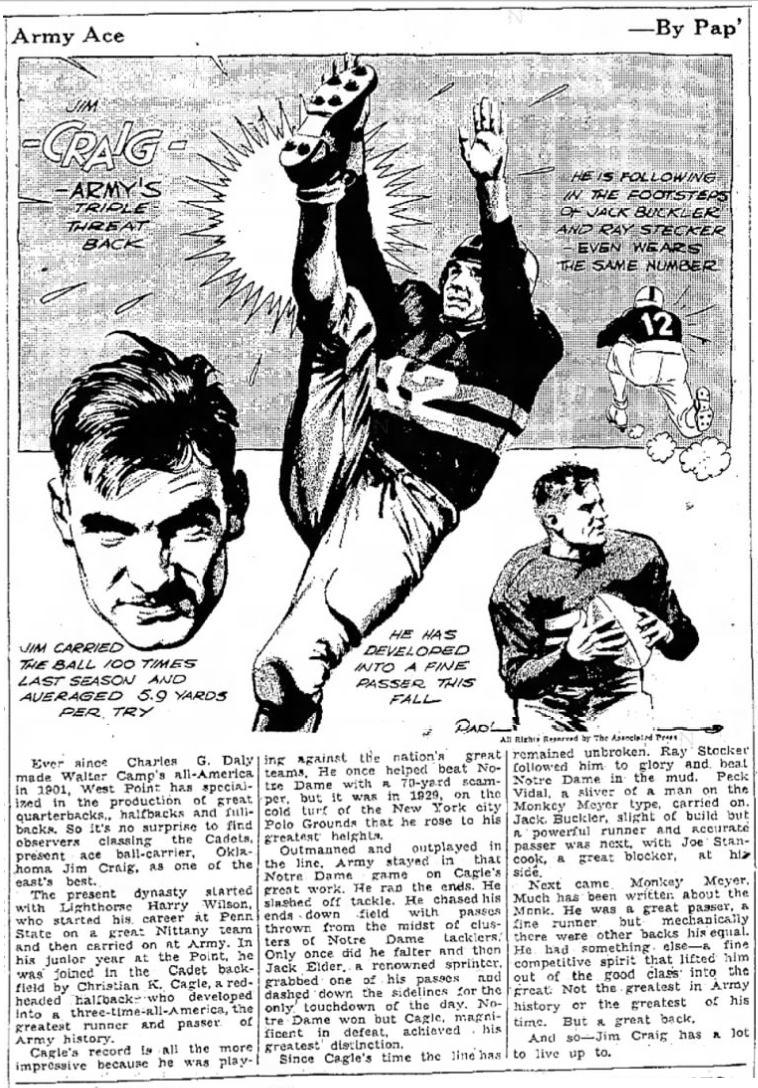 ArmyFB_1937_JimCraig_byPap_MoberlyMonitorMo_Nov111937