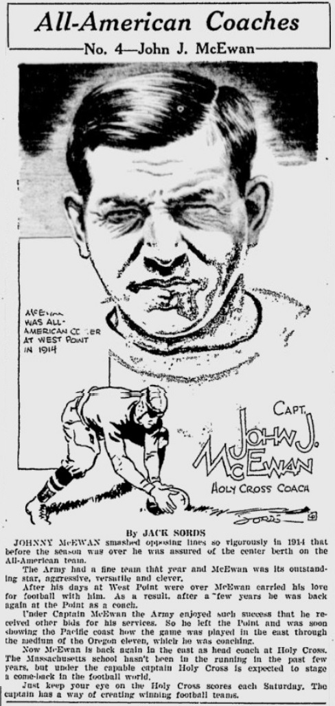 ArmyFB_1914_JohnJMcEwan_Coach1923-1925_GreensburgDailyTribune_Oct201930