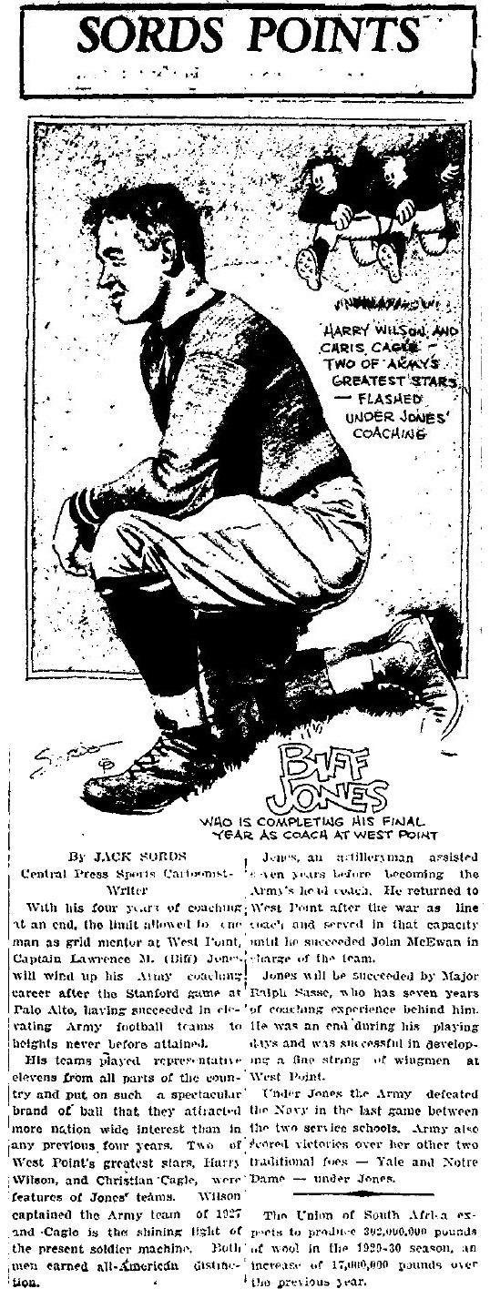 ArmyFB_1929_BiffJones_byJackSords_PlattsburghDailyRepublican-Journal_Dec31929