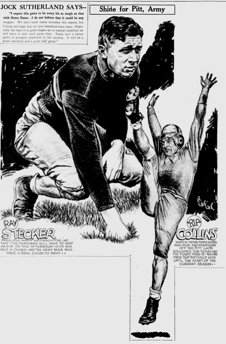 armyfb_1931_raystecker_byberger_pittsburghpress_nov141931