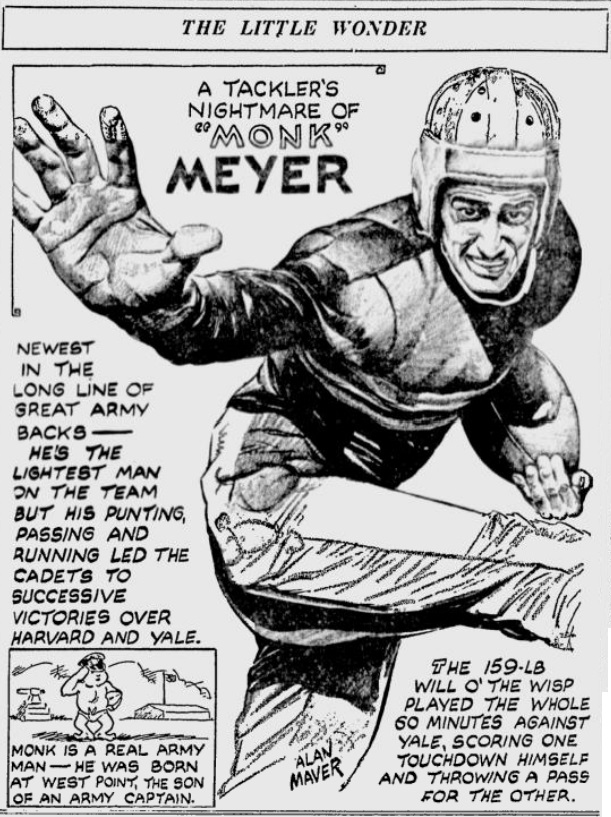 ArmyFB_1935_MonkMeyer_byAlanMaver_SundayMorningStar_Nov31935