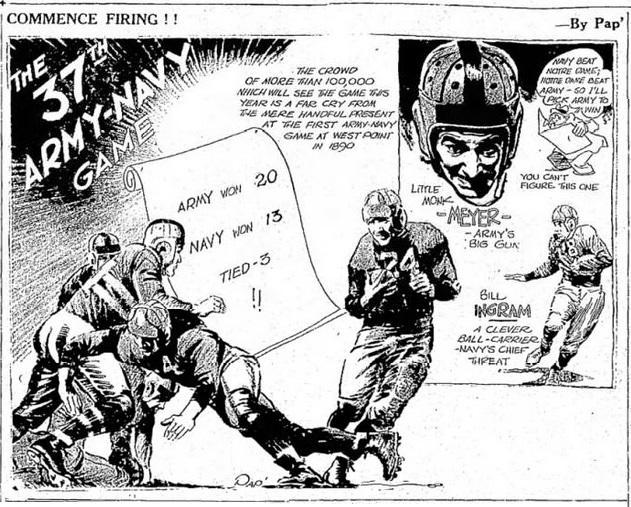 ArmyFB_1936_Army-Navy_byPap_TheEveningNewsSaultSainteMarieMI_28Nov1936