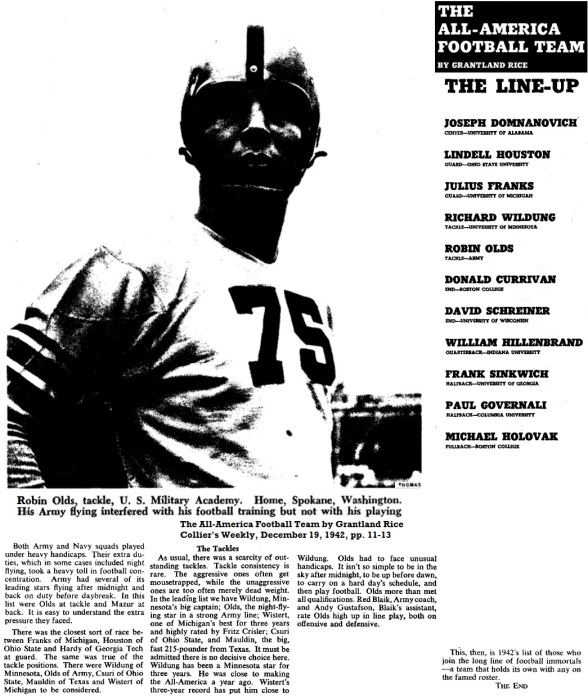 armyfb_1942_robinolds_allamerican_colliersmagazine_dec191942