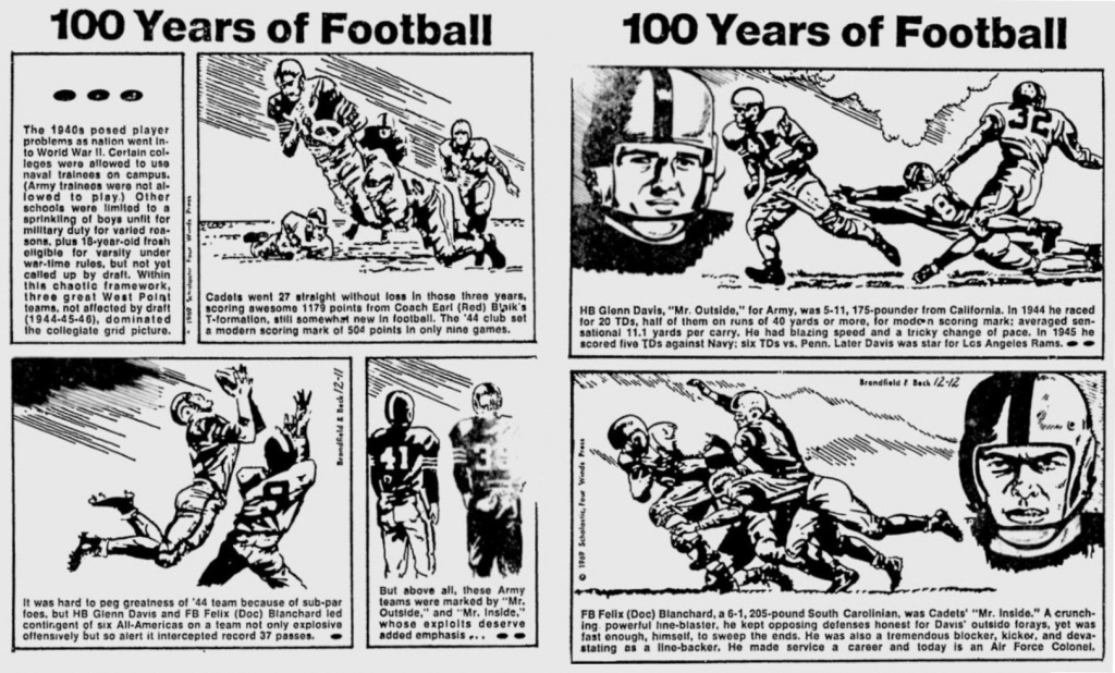 ArmyFB_1944-1946_100YearsofFootball_EveningNews_Dec11-121969