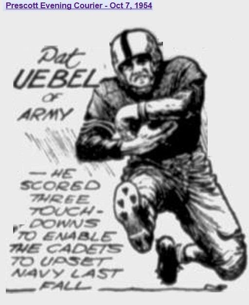 armyfb_1954_uebel_bypap_prescotteveningcourier_oct71954