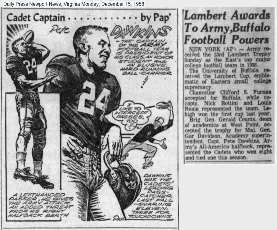 ArmyFB_1958_Dawkins-LambertTrophy_byPap_DailyPress_15Dec1958