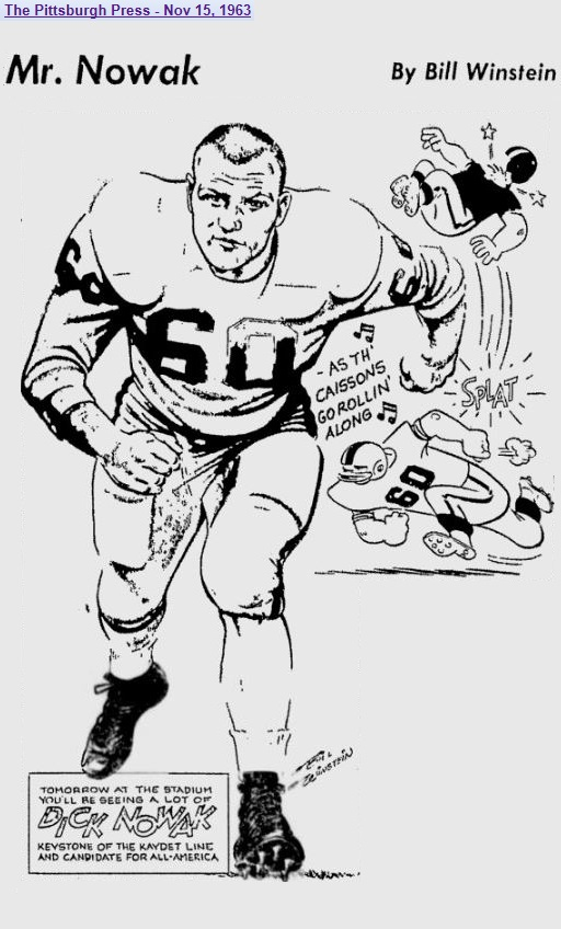 armyfb_1963_dicknowak_bybillwinstein_pittsburghpress_nov151963