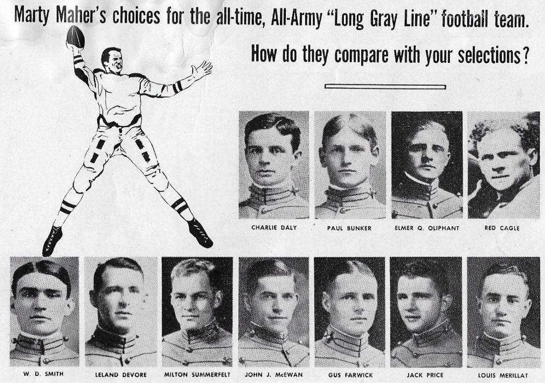 ArmyFB_MartyMahers_All-WestPointFootballTeam_