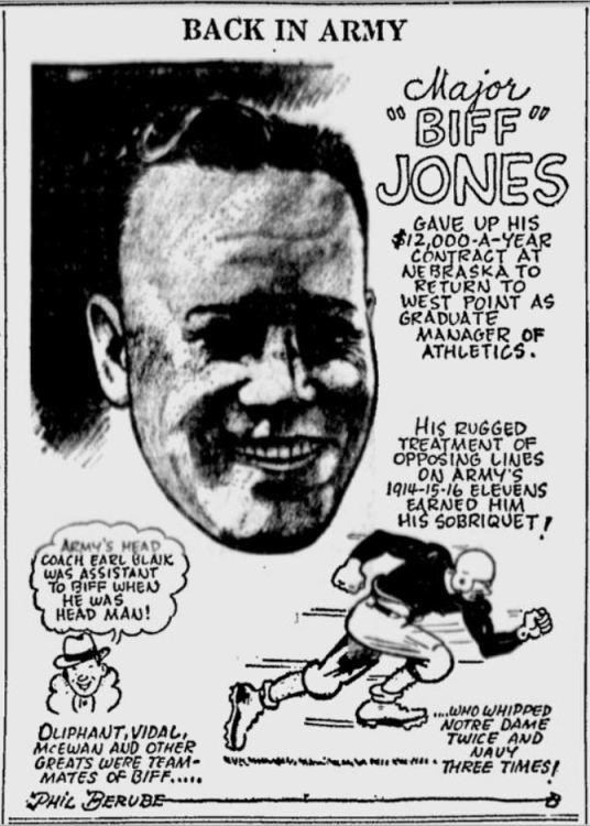 BiffJones_1942_BackinArmy_byPhilBerube_SundayMorningStar_Feb151942