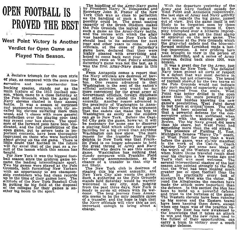 ArmyFB_1913_vsNavy_NYT_Dec11913