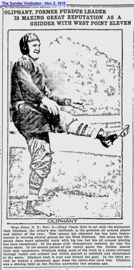 ArmyFB_1915_Oliphant_SundayVindicator_YoungstownOH_Nov21915