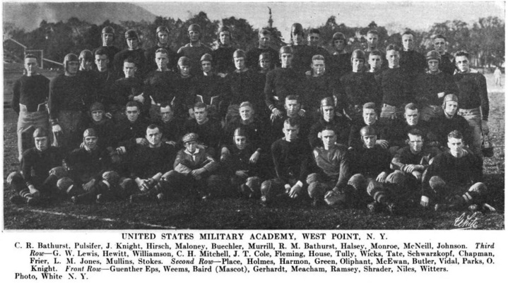 ArmyFB_1916_team_IntercollegiateAthleticCalendar_Volume1