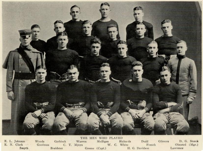 ArmyFB_1921_vsNavy_starters