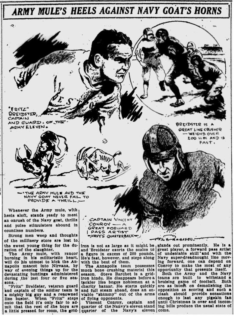 ArmyFB_1922_FritzBreidster_StPetersburgTimes_Nov241922