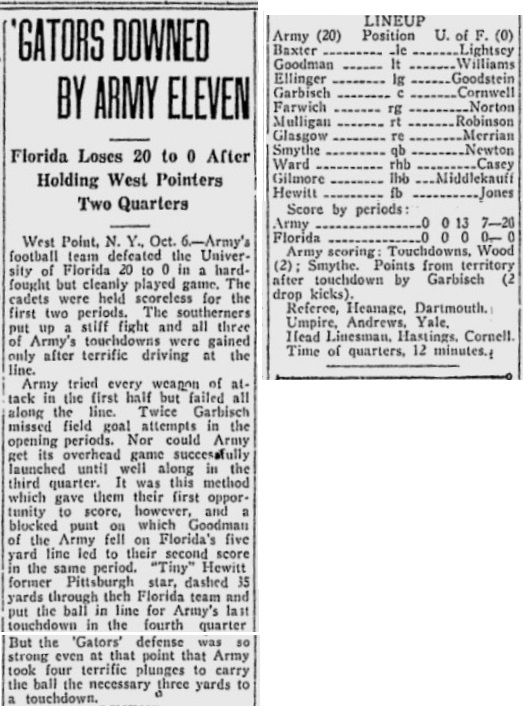 ArmyFB_1923_vsFlorida_PalmBeachPost_Oct71923
