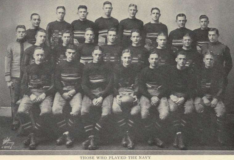 ArmyFB_1924_vsNavy_starters