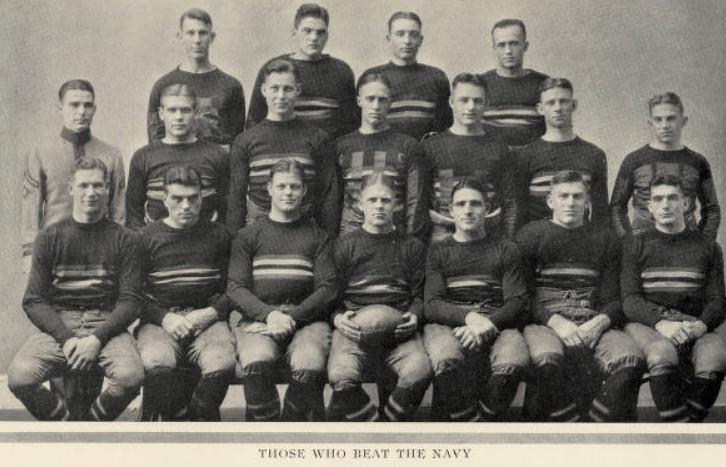 ArmyFB_1925_vsNavy-starters