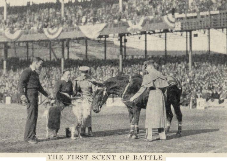 ArmyFB_1925_vsNavy_MulemeetsGoat