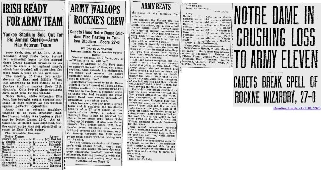 ArmyFB_1925_vsNotreDame_Oct17-181926