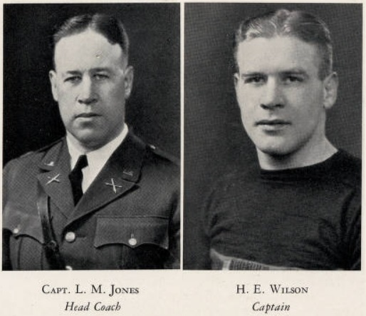 ArmyFB_1927_CoachJones_HarryWilson-Captain