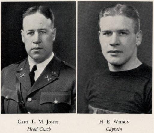 ArmyFB_1927_CoachJones_HarryWilson-Captain