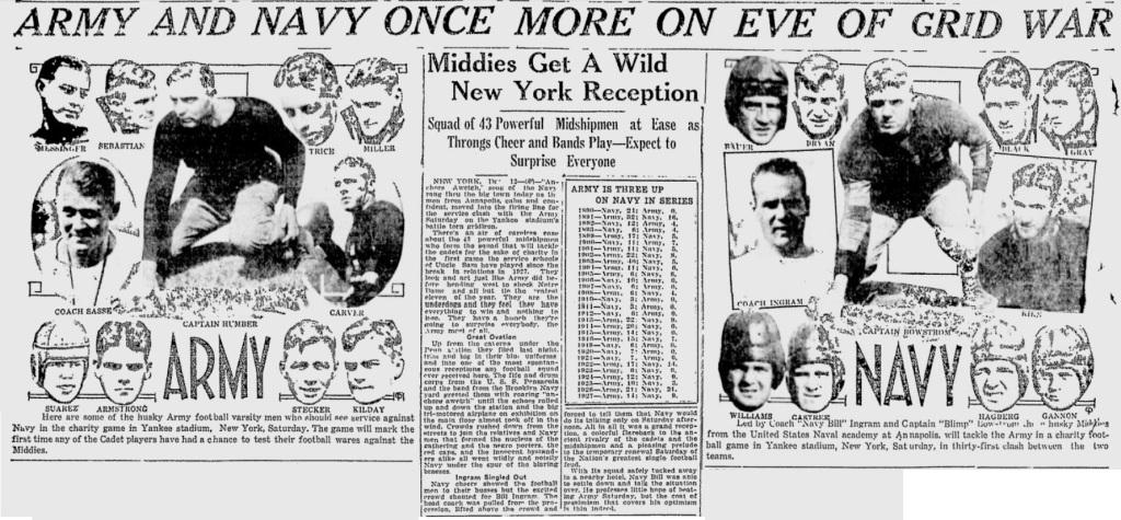 ArmyFB_1930_vsNavy-pre_LewistonEveningJournal_Dec121930