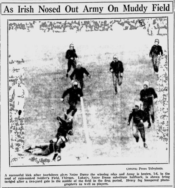 ArmyFB_1930_vsNotreDame_GreensburgDailyTribune_Dec11930