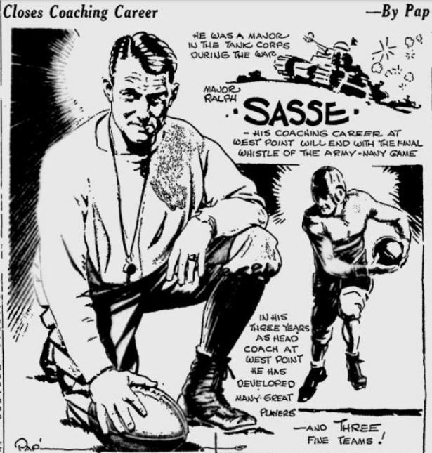 ArmyFB_1932_CoachRalphSasse_ByPap_SpokaneDailyChronicle_Nov291932
