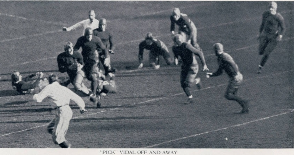 ArmyFB_1932_Vidal-run