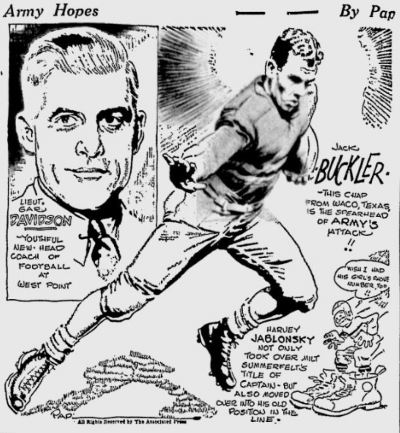 ArmyFB_1933_CoachGarDavidson_JackBuckler_byPap_Telegraph_Oct181933