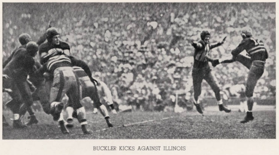 ArmyFB_1934_vsIllinois_Buckler-punting
