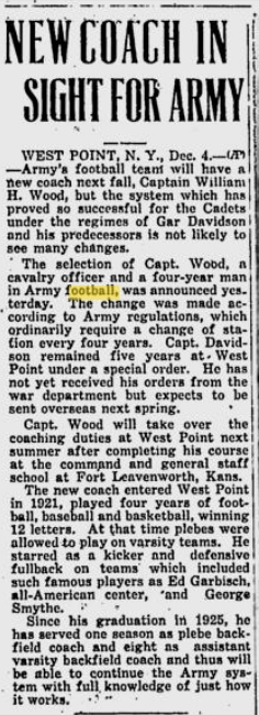 armyfb_1938_wood-newcoach_prescotteveningcourier_dec41937