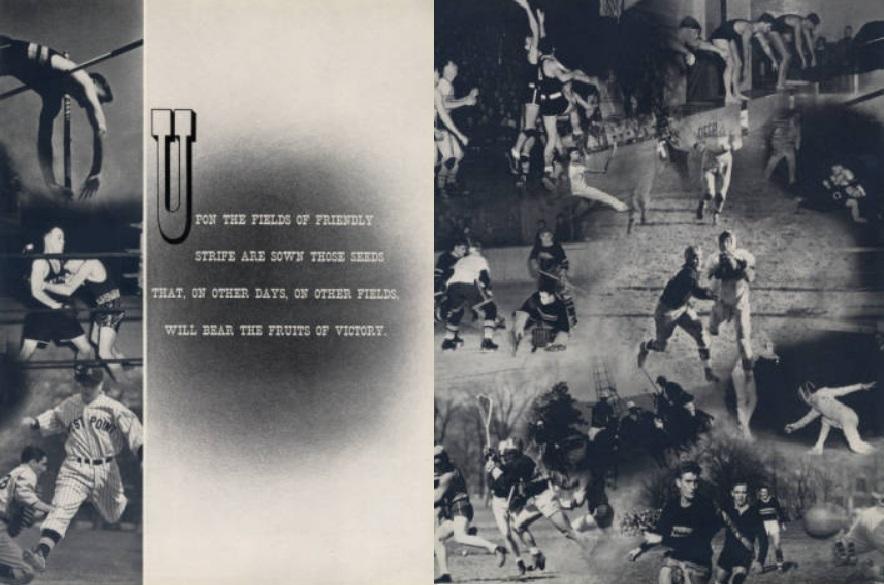 ArmyFB_1940_MacArthur-slogan-UpontheFields