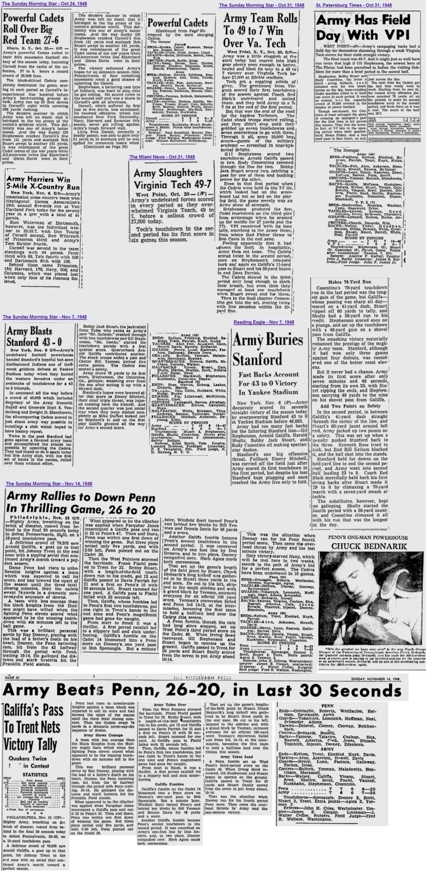ArmyFB_1948_various_SundayMorningStar-Wilmington_Oct-Nov1948