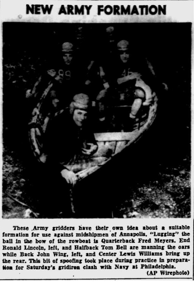 ArmyFB_1951_NewFormation_StPetersburgTimes_Nov291951