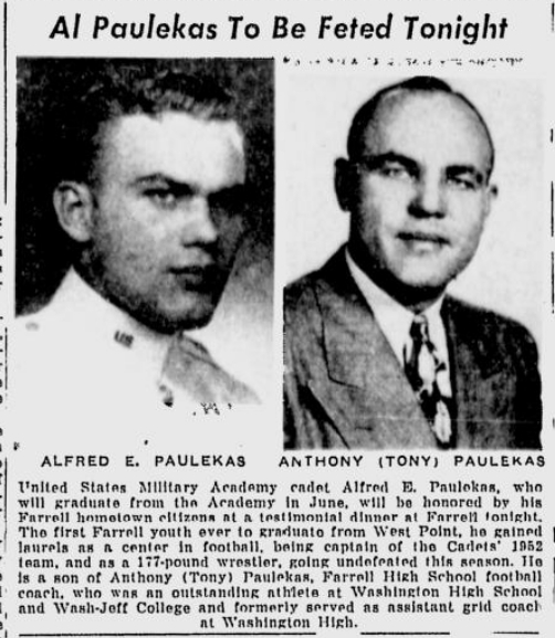 ArmyFB_1952_AlPaulekas_WashingtonObserver_Mar211953