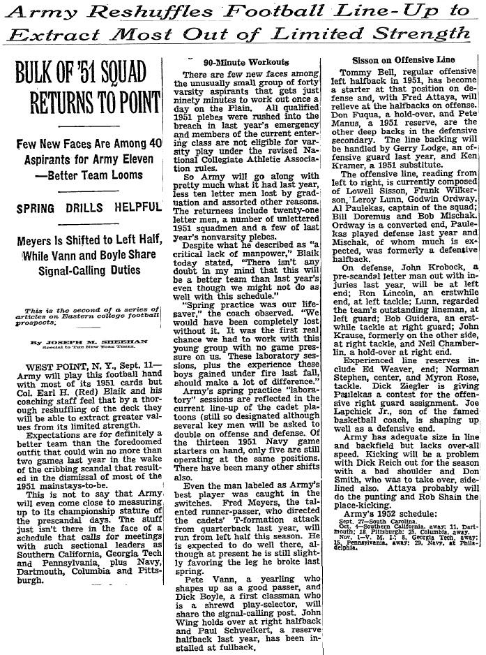 armyfb_1952_forecast_nyt_sep121952