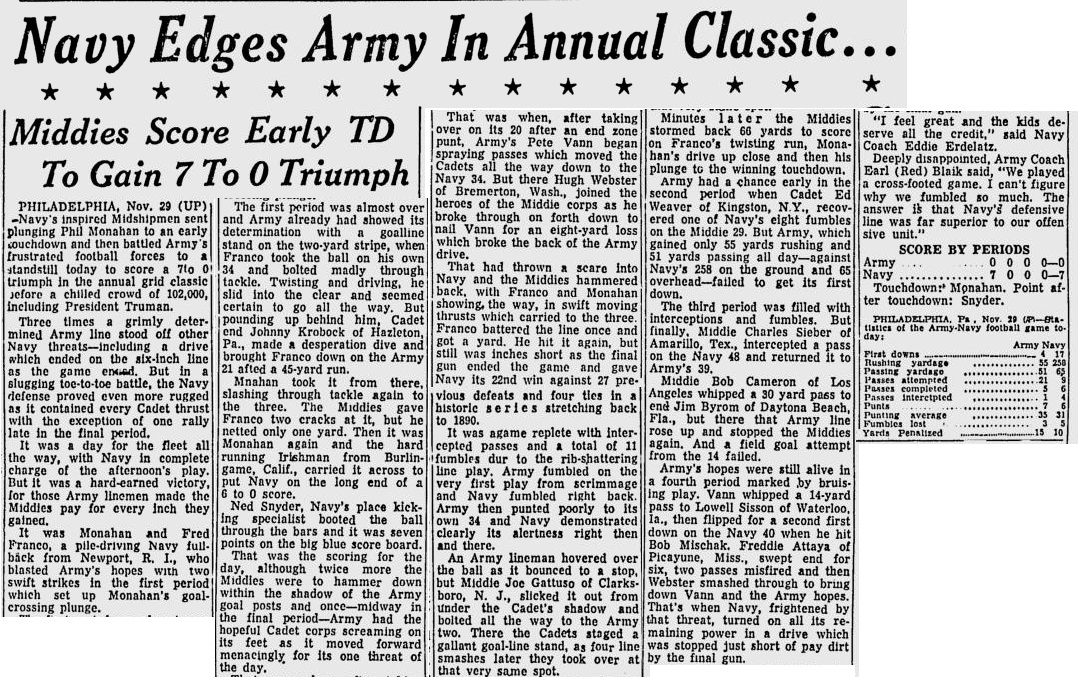 armyfb_1952_vsnavy_starnews_nov291952