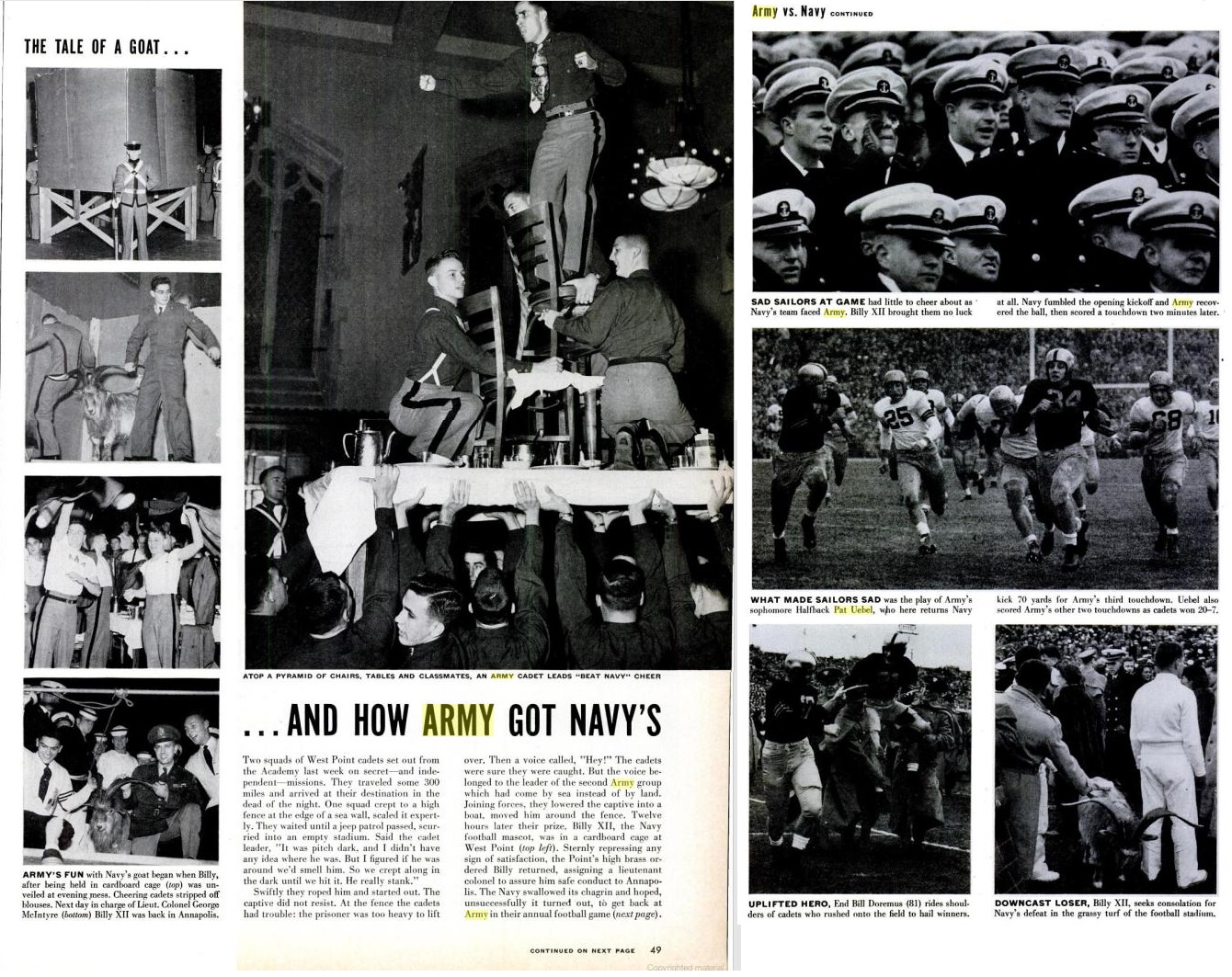 armyfb_1953_vsnavy_life_dec71953