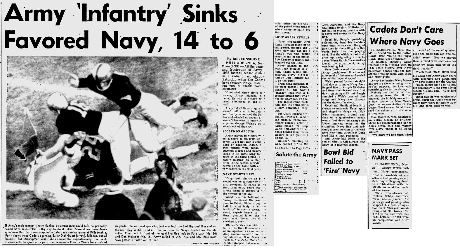 armyfb_1955_vsnavy_newburghnews_nov271955