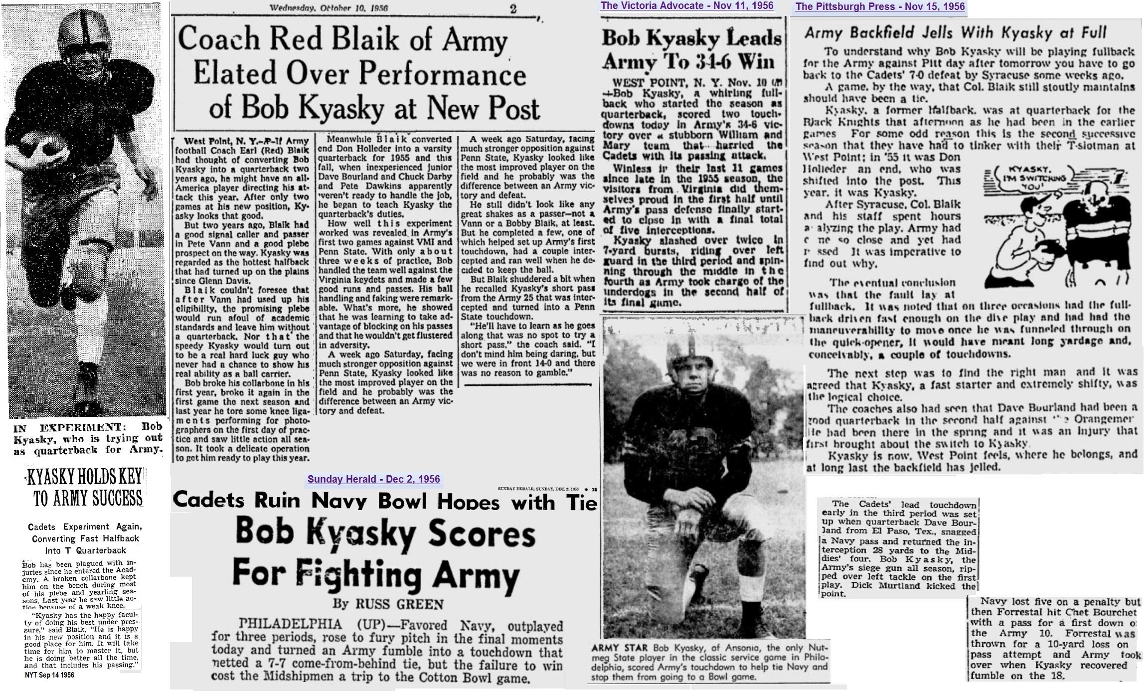 ArmyFB_1956_BobKyasky_various_1956