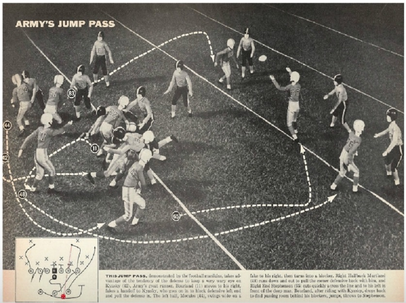 ArmyFB_1956_vsNavy_Jump-Pass_SI_Dec31956
