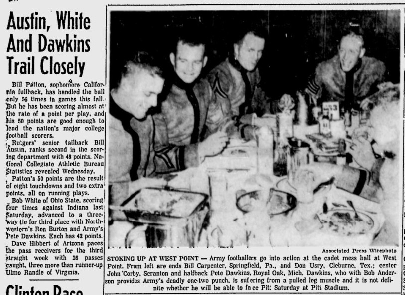 armyfb_1958_tables_washingtonpaobserver_oct231958