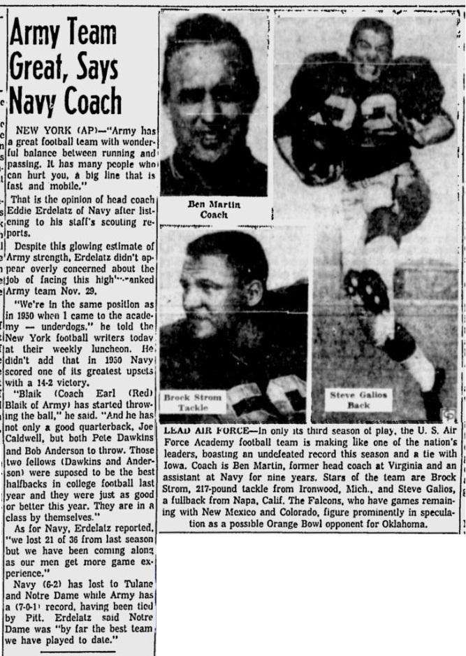 armyfb_1958_vsafa_washingtonpaobserver_nov181958