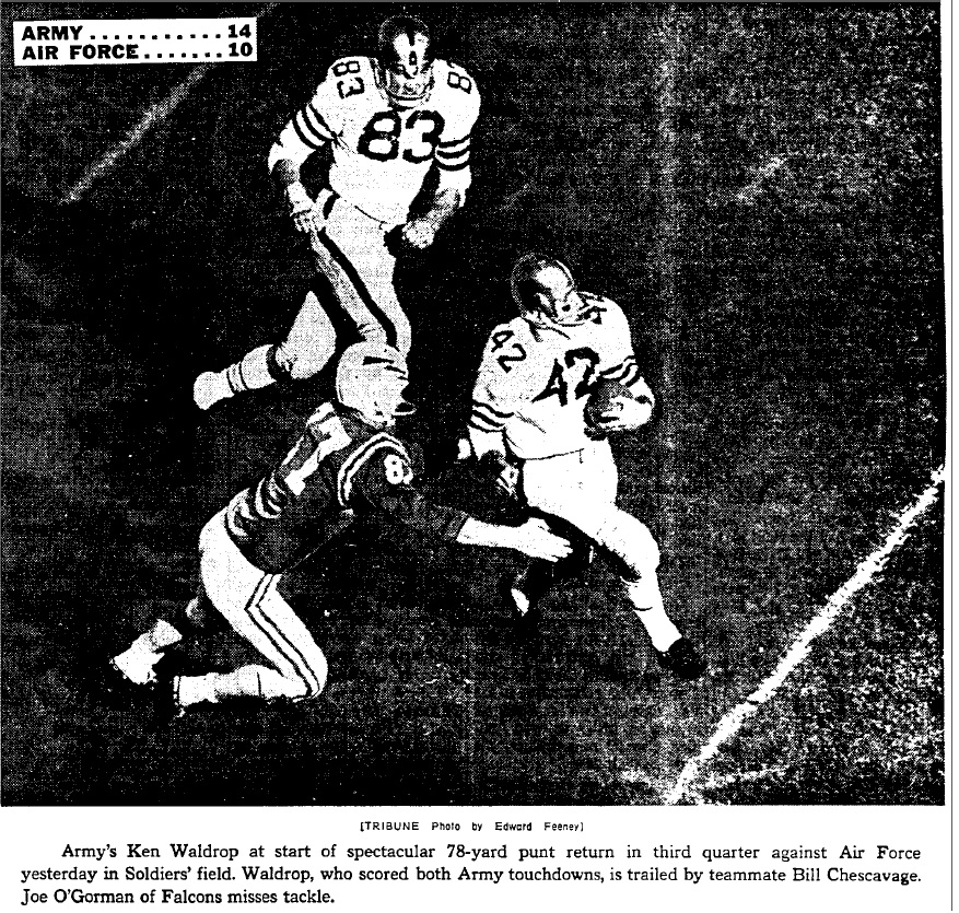 armyfb_1963_vsaf-waldrop-chescavage_chicagotribune_nov31963
