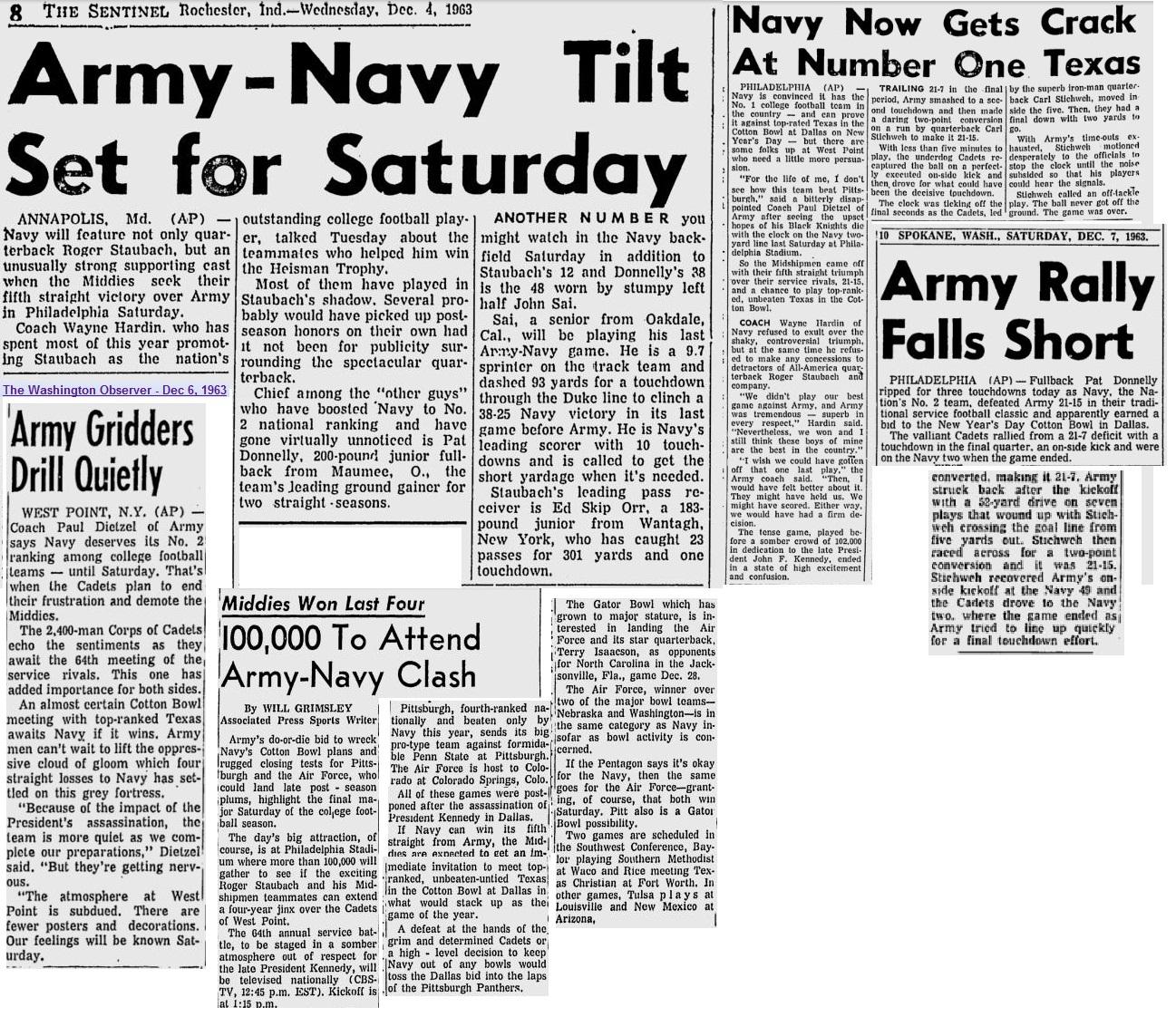 armyfb_1963_vsnavy_rochesterinsentinel_dec41963
