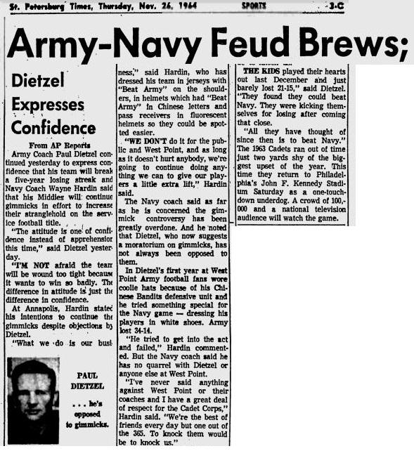 armyfb_1964_vsnavy_stpetersburgtimes_nov261964
