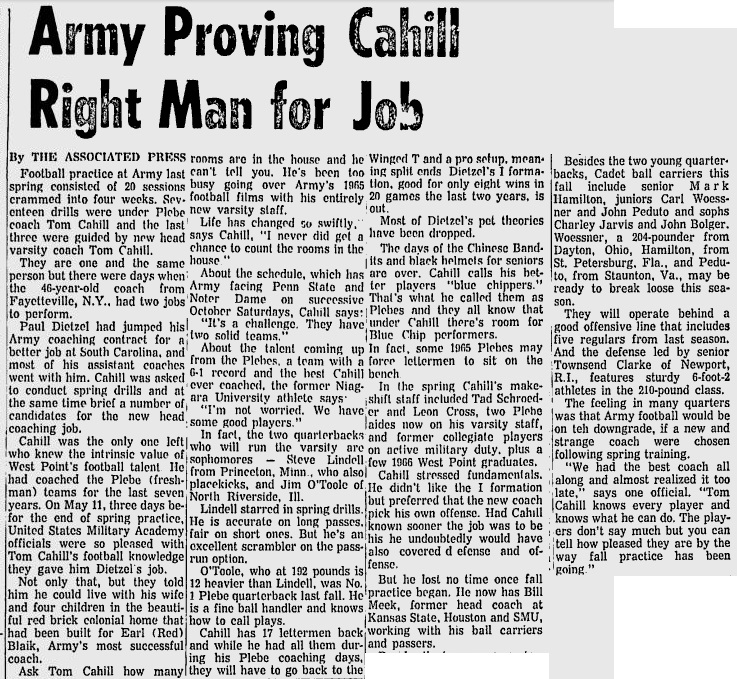 armyfb_1966_eveningnews_sep141966