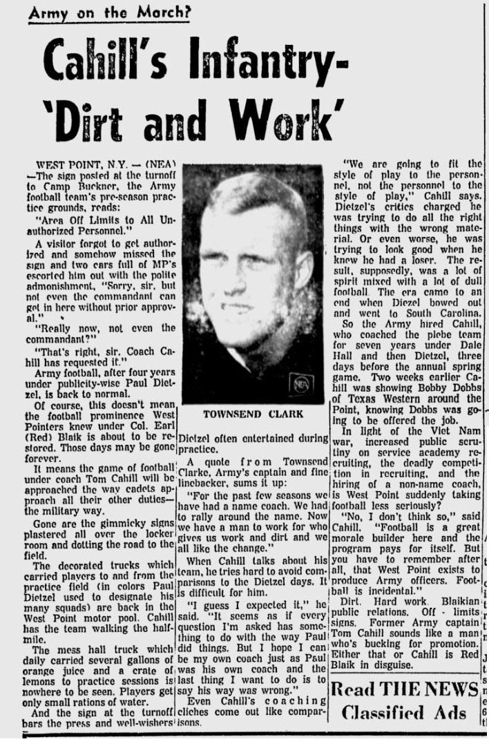 armyfb_1966_townsendclark_eveningnews_sep121966